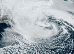 Huge Atlantic Ocean Storm Heading Towards the East Coast