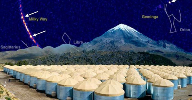 High Altitude Experiment Atop Mexican Volcano Challenges Speed of Light