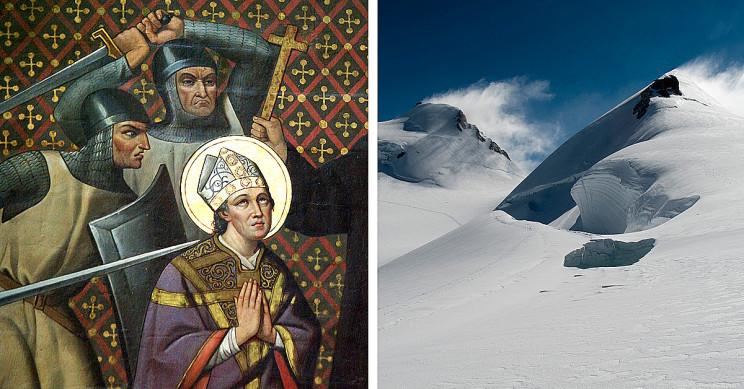 Alpine Glacier Reveals Insight into Murder of Thomas Becket in 1170