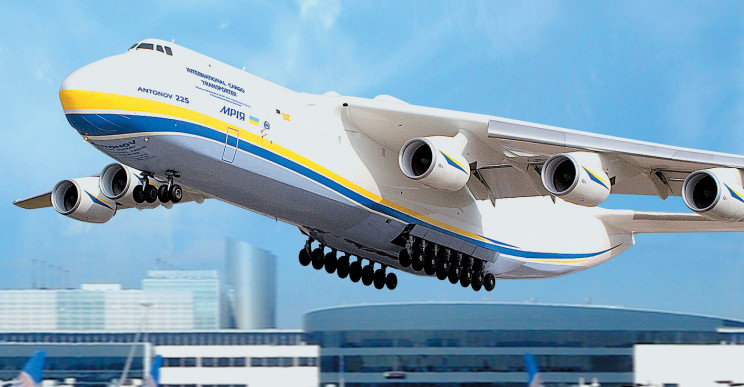 The World's Largest Plane Takes to the Skies Once Again