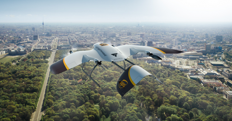 UPS Partners with Wingcopter to Develop Multipurpose Delivery Drones
