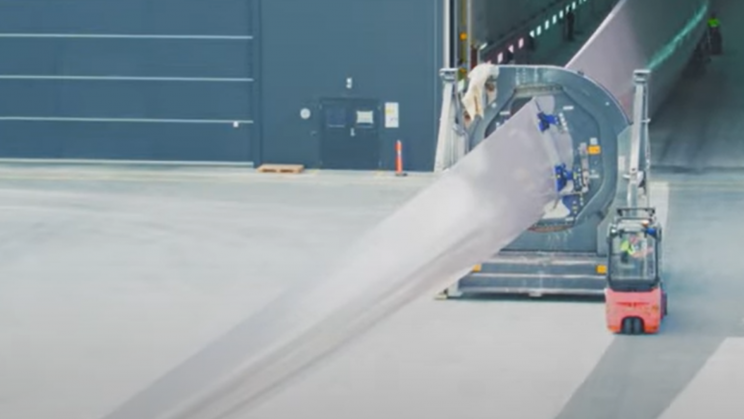 Siemens Makes World's First Recyclable Wind Turbine Blade