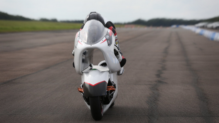 A Radical New Motorcycle Design Hit the Tracks for the First Time