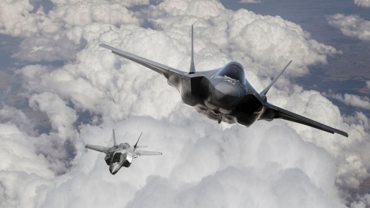 F-35A Fighter Jets Successfully 'Test Dropped' Inert B61 Nuclear Bombs