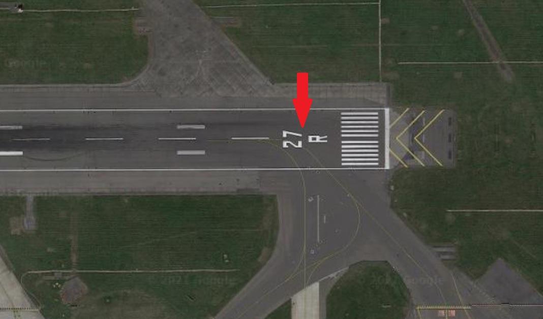runway markings runway name