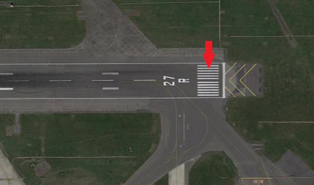 runway markings threshold