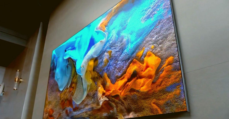 Samsung 110 Inch TV Close-Up