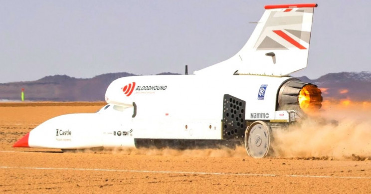 Bloodhound LSR Needs New Owner to Shatter Records at More Than 800 MPH