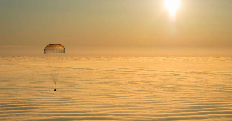 Soyuz MS-16 Safely Returns ISS Trio Back to Earth