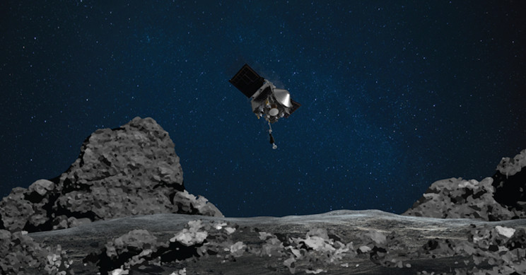 NASA Touched down on Asteroid Bennu and Collected Samples