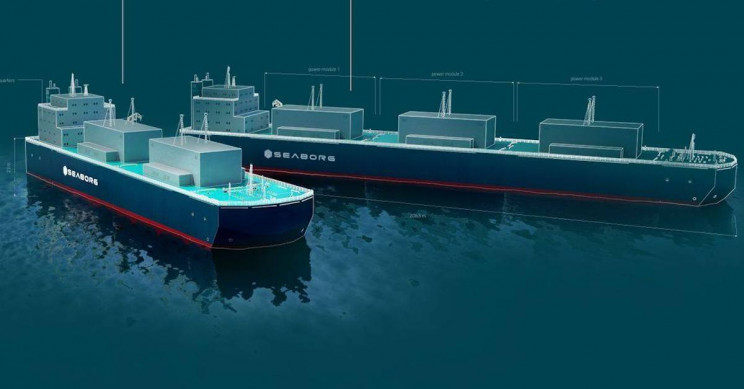 Floating Nuclear Reactors Could Power Entire Countries by 2025