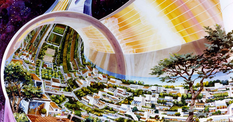 Let's Take a Tour of NASA's 1970s Torus Space Settlement Concept