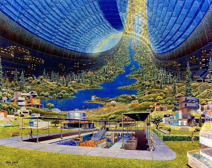 space settlements space torus