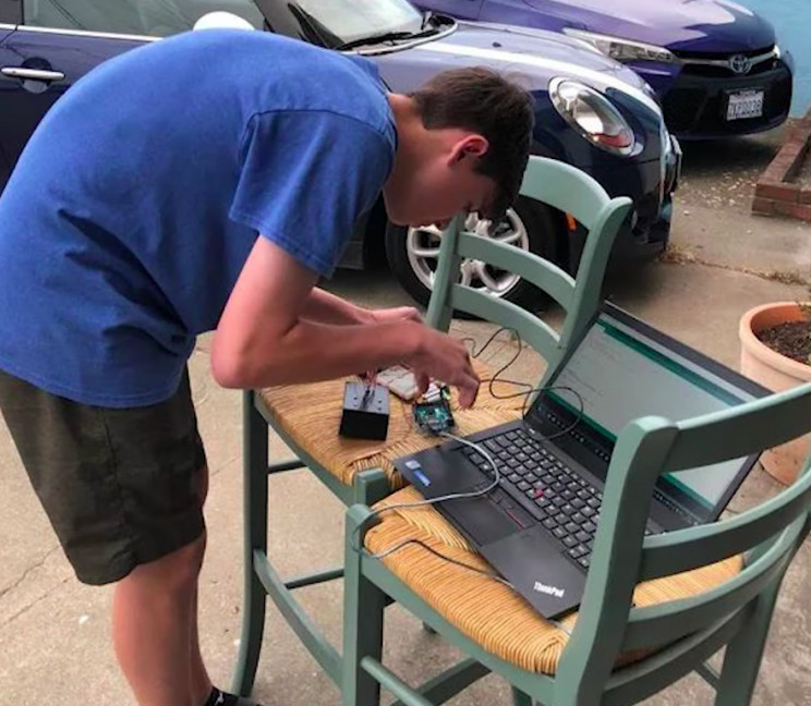 High Schooler Built Drone Buoy to Collect Oceanographic and Atmospheric Data