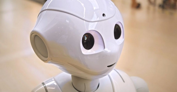 Robot Reminds Paris Mall-Goers to Wear Masks, Curb Spread of COVID-19