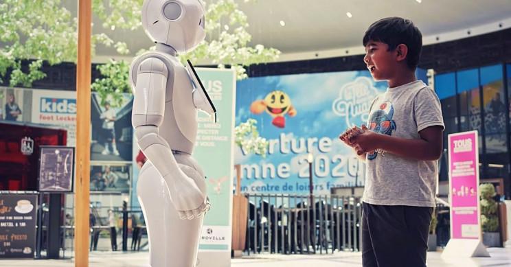 SoftBank Robotics Europe Pepper Child