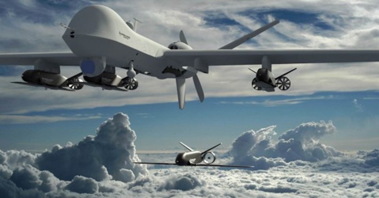 drones and aircraft carriers