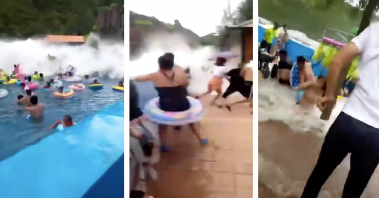 "44 Injured in Wave Pool ""Tsunami"" Caused by Electric Malfunction"