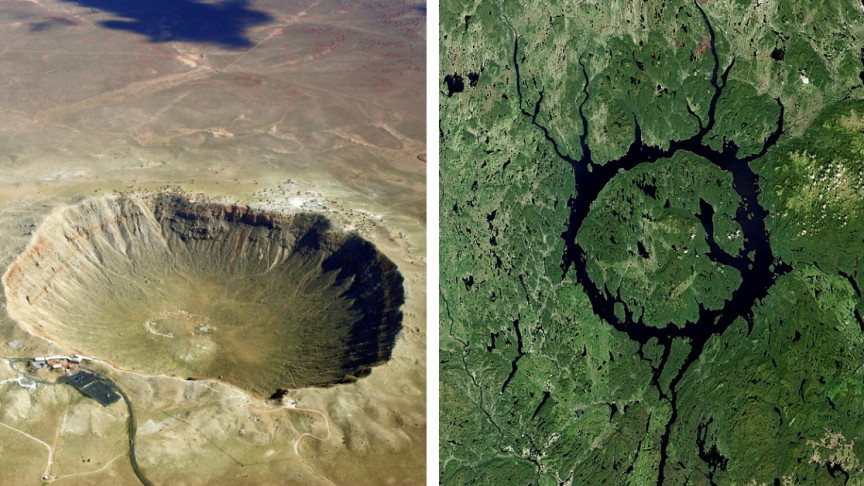 11 of Earth's Largest Impact Craters
