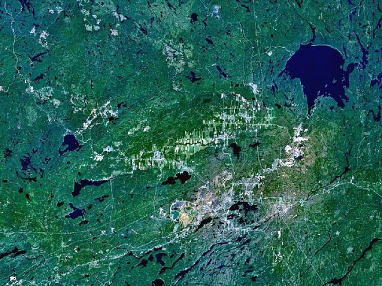 Sudbury Crater