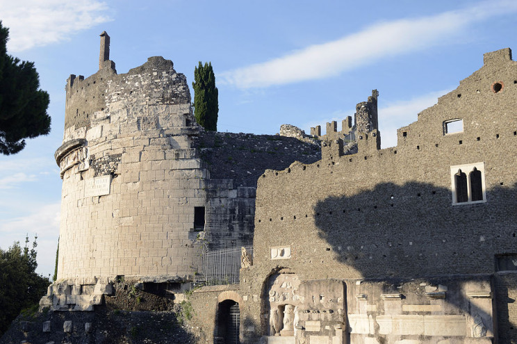 roman concrete tomb