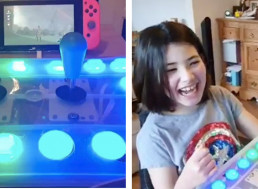 This Dad Tinkered with an Xbox Adaptive Controller so His Two Disabled Kids Could Game