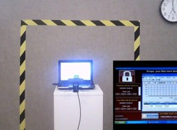 A Piece of Art Consisting of a Laptop with Dangerous Viruses Is on Sale for More Than $1 Million