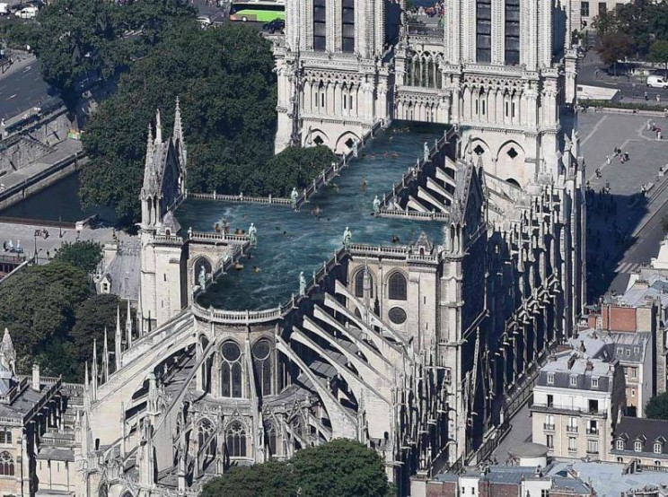 notre dame reconstruction pool
