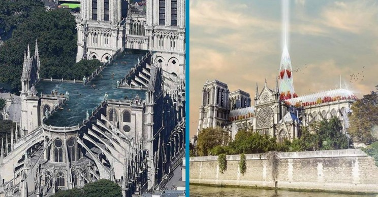 7 Interesting Reconstruction Ideas for Notre-Dame Cathedral