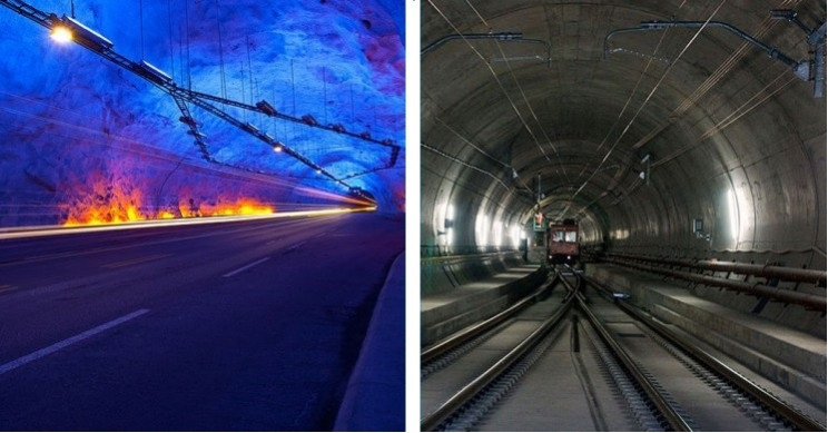 The Top 9 Longest Tunnels in the World