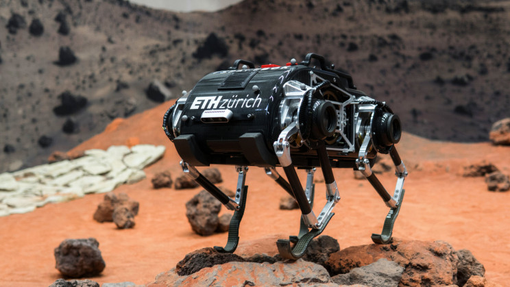 Meet SpaceBok: The First Four-Legged Robot Set for Mars