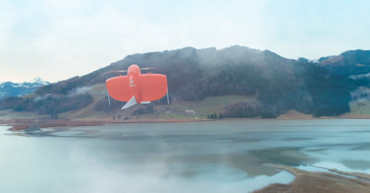 VTOL Drone Can Map Large Areas of Land down to 1 cm Absolute Accuracy