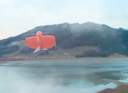 VTOL Drone That Can Map Large Areas of Land down to 1 cm with Absolute Accuracy