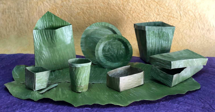 This Company Is Replacing Single-Use Plastics With Banana Leaves