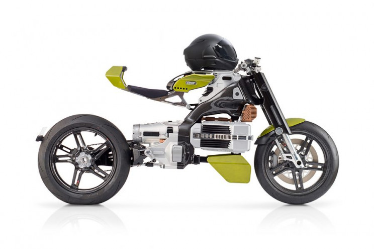 Futuristic Electric Motorcycle HyperTek Unveils at $80,000