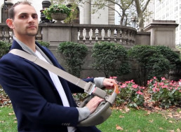 Guy Creates Pedestrian Horn That Saves Lives and Time in a Big City