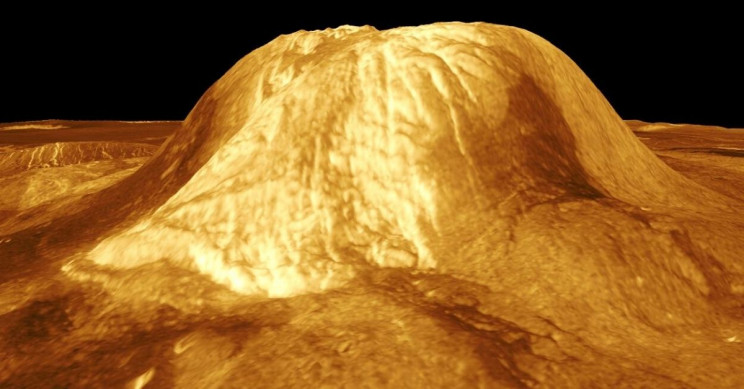 Venus Still Has Active Volcano Formations on It