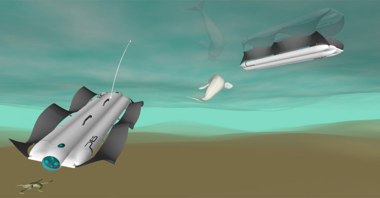 新型可持续自主机器人可在深海执行开采任务