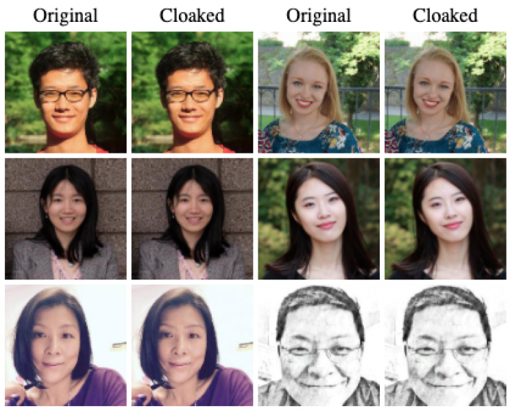 Privacy Tool 'Cloaks' Faces to Trick Facial Recognition Software