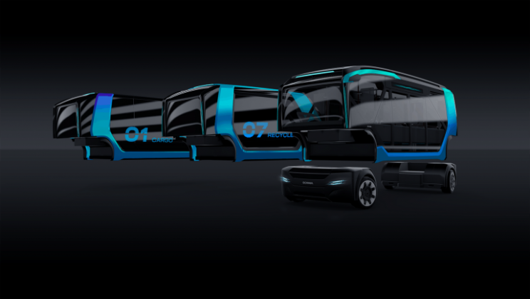 The Future Is Here: Scania's Bold Multi-Purpose Electric Self-Driving Vehicles