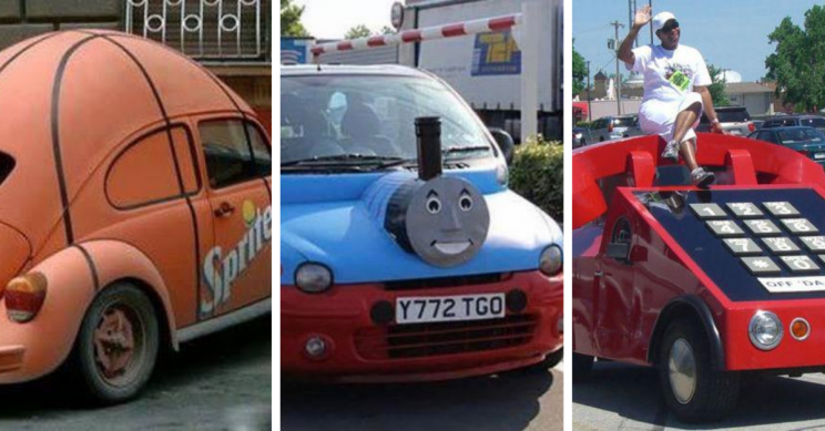 35 Car Mods so Facemeltingly Ugly They'll Burn Your Eyes