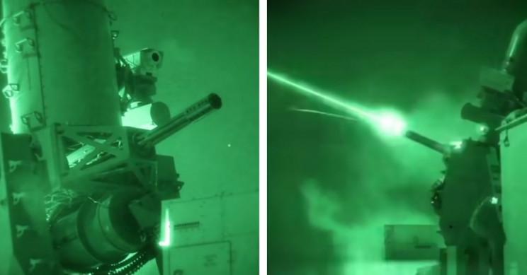 Automated Gatling Gun at US' Iraq Embassy Unloads During Rocket Attack