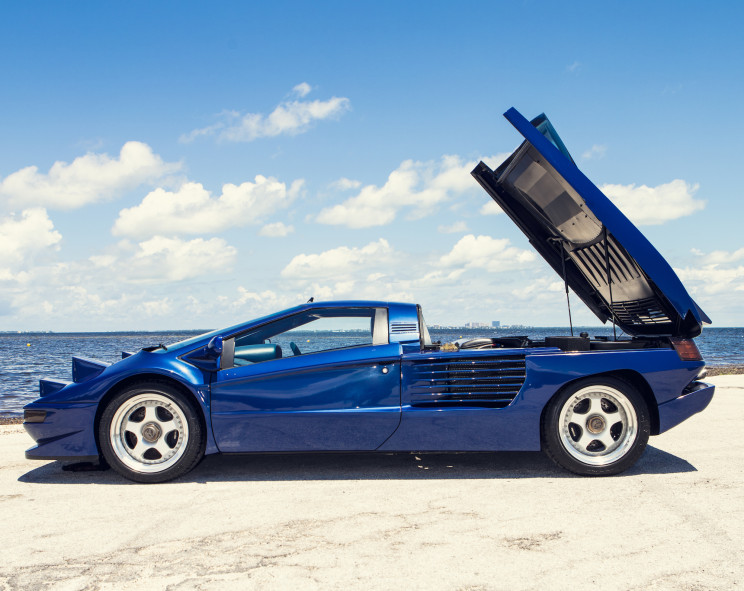 Sultan of Brunei's Super-Rare $725K 1993 Cizeta Is Up For Sale