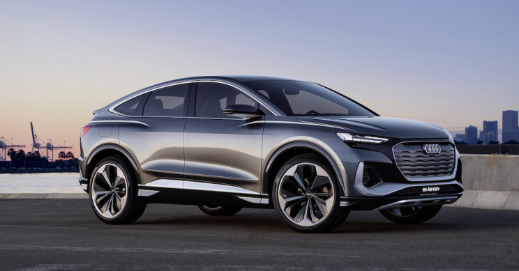 Audi Unveils New Q4 Sportback Electric SUV
