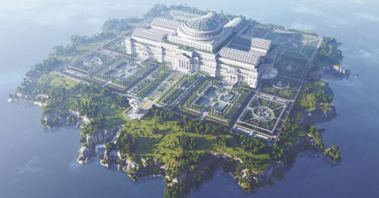 Minecraft Constructs Virtual Library for Uncensored Journalism