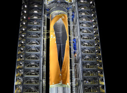 Public Gets Glimpse of NASA's Most Powerful Rocket Launcher