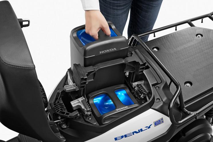 Honda Benly Electric Battery