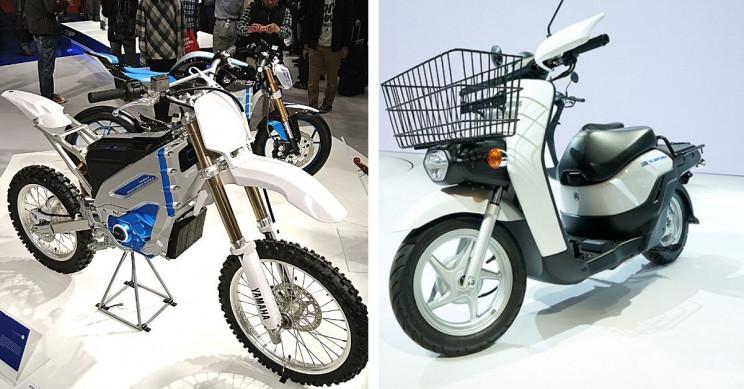 Honda, Kawasaki, Yamaha, Suzuki Testing Swappable Electric Batteries