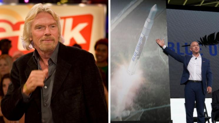 Richard Branson May Just Beat Jeff Bezos to Space Next Month
