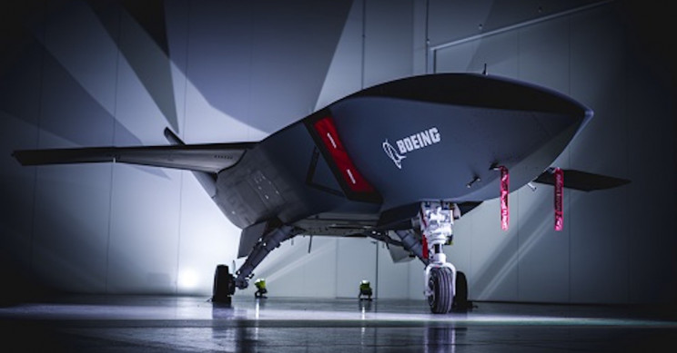 Futuristic Combat Drone 'Loyal Wingman' by Boeing Rolls Out